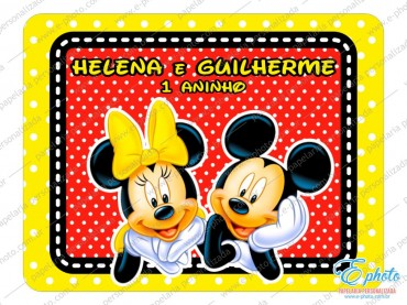 Mickey e Minnie – Helena e Guilherme